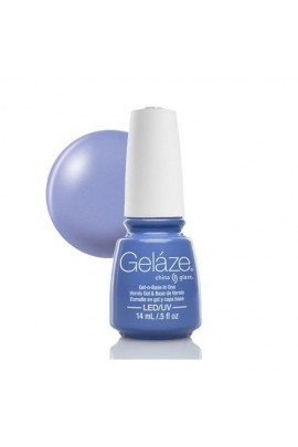 China Glaze Gelaze Gel Polish - Secret Peri-wink-le - 0.5oz / 14ml
