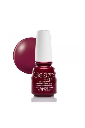 China Glaze Gelaze Gel Polish - Seduce Me - 0.5oz / 14ml