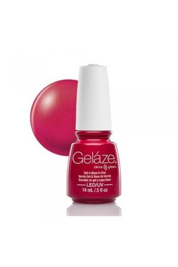 China Glaze Gelaze Gel Polish - Sexy Silhouette - 0.5oz / 14ml