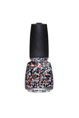 China Glaze Nail Polish - Surprise Collection - Don't Be A Flake - 0.5oz / 14ml