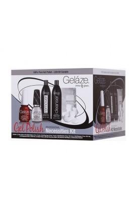 China Glaze Gelaze - Gel-n-Base in One Gel Polish - Professional Necessities Kit