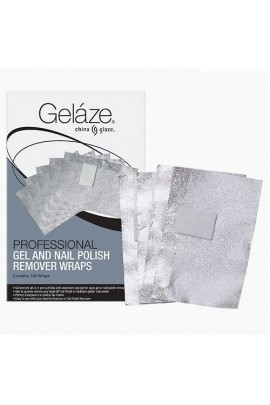 China Glaze Gelaze - Remover Wraps - 100ct
