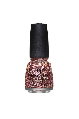 China Glaze Nail Polish - Surprise Collection -Glimmer More - 0.5oz / 14ml