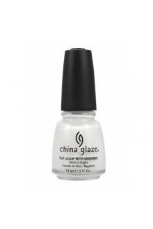 China Glaze Nail Polish - White Out - 0.5oz / 14ml