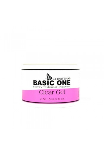 Christrio BASIC ONE Clear Gel - 2oz / 59ml