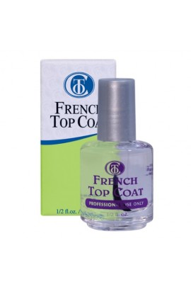 Christrio French Top Coat - 0.5oz / 14.79ml