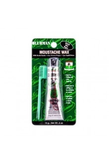 Clubman - Moustache Wax With Comb - Black - 0.5oz / 14g