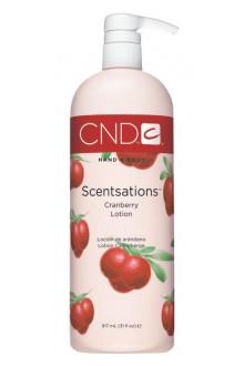 CND Scentsations - CranBerry Lotion - 31oz / 917ml