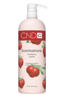 CND Scentsations - CranBerry Lotion - 31oz / 917ml