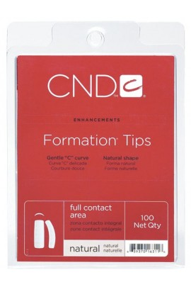 CND Formation Tips - Natural - 100ct