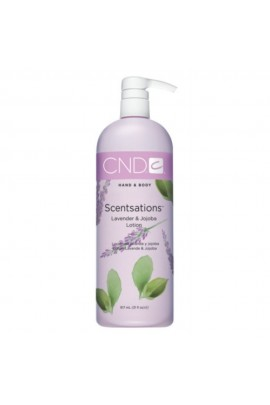CND Scentsations - Lavender & Jojoba Lotion - 31oz / 917ml