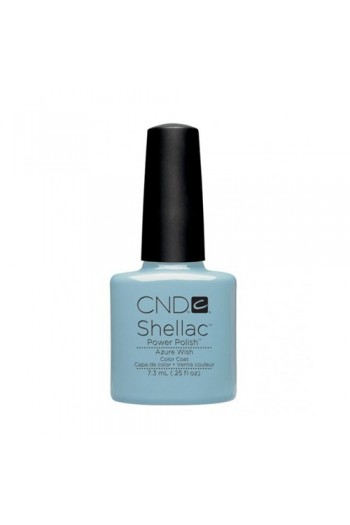 CND Shellac Power Polish - Sweet Dreams Collection - Azure Wish -  0.25oz / 7.3ml