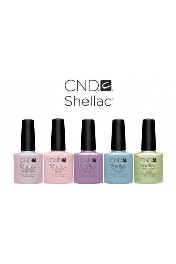 CND Shellac Power Polish - Sweet Dreams Collection - Grapefruit Sparkle - 0.25oz / 7.3ml