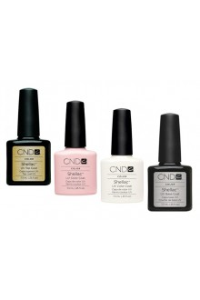 CND Shellac Power Polish - French Manicure Kit - 0.25oz / 7.3ml each