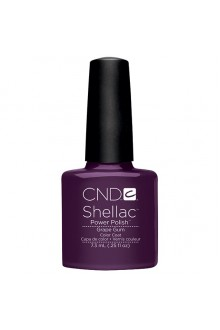 CND Shellac Power Polish - Summer Splash Collection - Grape Gum - 0.25oz / 7.3ml