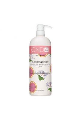 CND Scentsations - Honeysuckle & Pink Grapefruit Lotion - 31oz / 917ml