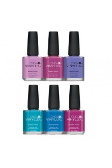 CND Vinylux Weekly Polish - Garden Muse Collection - All 6 Colors - 0.5oz / 15ml EACH