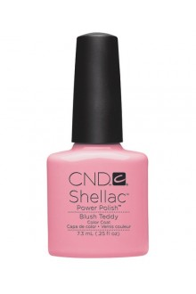 CND Shellac Power Polish - Intimates Collection - Blush Teddy - 0.25oz / 7.3ml