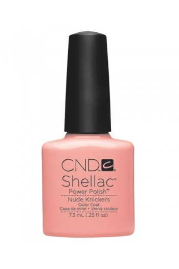 CND Shellac Power Polish - Intimates Collection - Nude Knickers - 0.25oz / 7.3ml