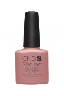 CND Shellac Power Polish - Intimates Collection - Satin Pajamas - 0.25oz / 7.3ml