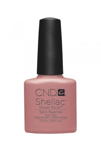 CND Shellac Power Polish - Intimates Collection - Satin Pajamas - 0.25oz / 7.3ml