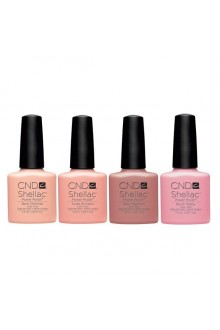 CND Shellac Power Polish - Intimates Collection - 0.25oz / 7.3mL EACH - ALL 4 Colors