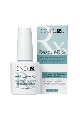 CND Essentials - RescueRXx - Daily Keratin Treatment - 0.5oz / 15ml