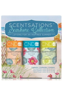 CND Scentsations Lotion - Seashore Trio Collection