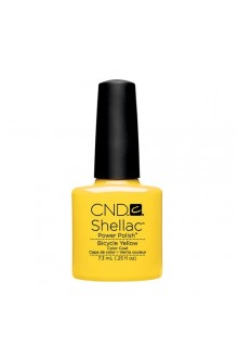 CND Shellac Power Polish - Paradise Collection - Bicycle Yellow - 0.25oz / 7.3ml