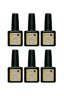 CND Shellac Power Polish - Top Coat - 0.25oz / 7.3ml (6pk)