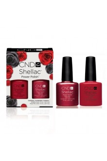 CND Shellac Power Polish - The Perfect Pair Collection - Ruby Ritz & Wildfire - Limited Edition