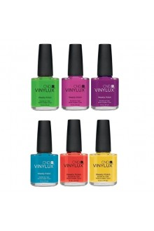 CND Vinylux Weekly Polish - Paradise Collection - 6 Colors