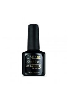 CND Shellac Xpress5 Top Coat - 0.25oz / 7.3ml