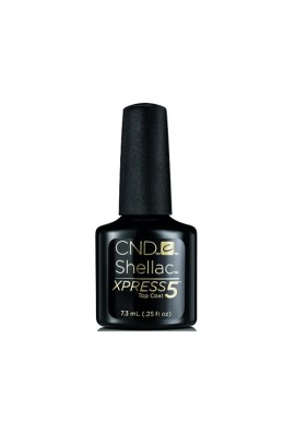 CND Shellac Xpress5 Top Coat - 0.25oz / 7.3ml