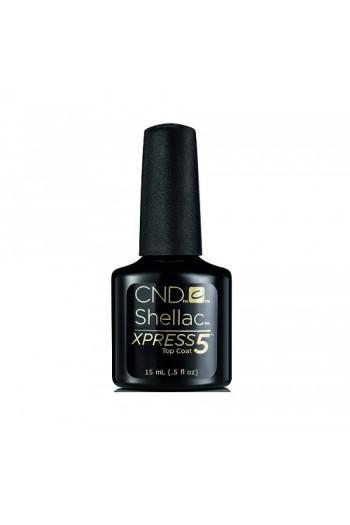 CND Shellac Xpress5 Top Coat - 0.5oz / 15ml