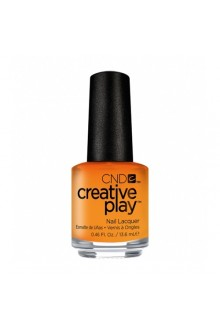 CND Creative Play Nail Lacquer - Apricot In The Act - 0.46oz / 13.6ml