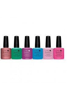CND Shellac - Art Vandal 2016 Spring Collection - All 6 Colors - 0.25oz / 7.3ml Each
