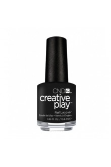 CND Creative Play Nail Lacquer - Black + Forth - 0.46oz / 13.6ml