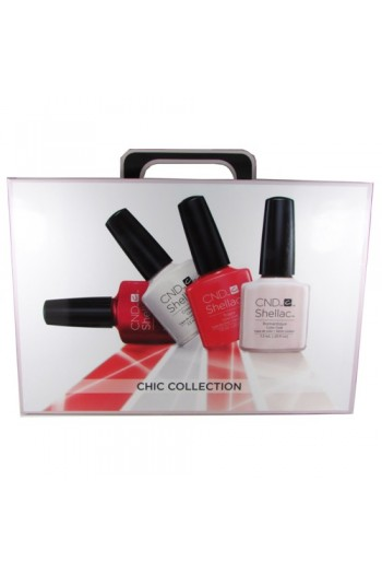 CND Shellac Power Polish - Chic Trial Pack
