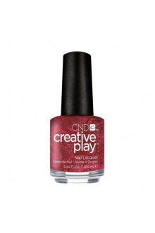 CND Creative Play Nail Lacquer - Crimson Like It Hot - 0.46oz / 13.6ml