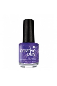 CND Creative Play Nail Lacquer - Cue The Violets - 0.46oz / 13.6ml