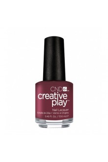 CND Creative Play Nail Lacquer - Currantly Single - 0.46oz / 13.6ml