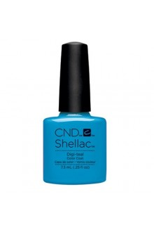 CND Shellac - Art Vandal 2016 Spring Collection - Digi-Teal - 0.25oz / 7.3ml