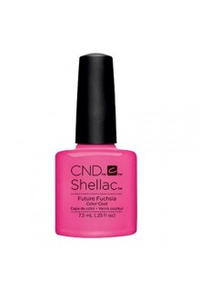 CND Shellac - Art Vandal 2016 Spring Collection - Future Fuchsia - 0.25oz / 7.3ml