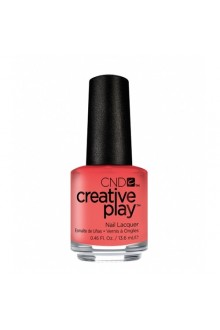 CND Creative Play Nail Lacquer - Jammin Salmon - 0.46oz / 13.6ml