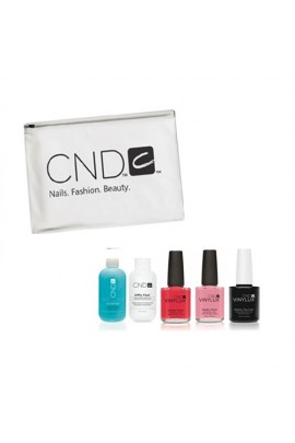 CND Vinylux Weekly Polish - JetSet, Go! Travel Prepack