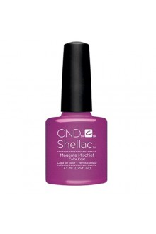 CND Shellac - Art Vandal 2016 Spring Collection - Magenta Mischief - 0.25oz / 7.3ml