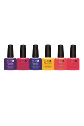 CND Shellac - New Wave Spring 2017 Collection - All 6 Colors