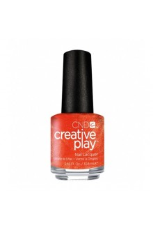 CND Creative Play Nail Lacquer - Orange You Curious - 0.46oz / 13.6ml