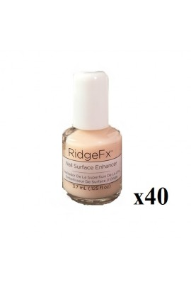 CND RidgeFX - Nail Surface Enhancer - 0.125oz / 3.7ml - 40pk